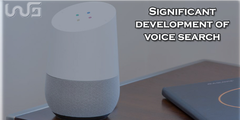 Big development in voice search technology